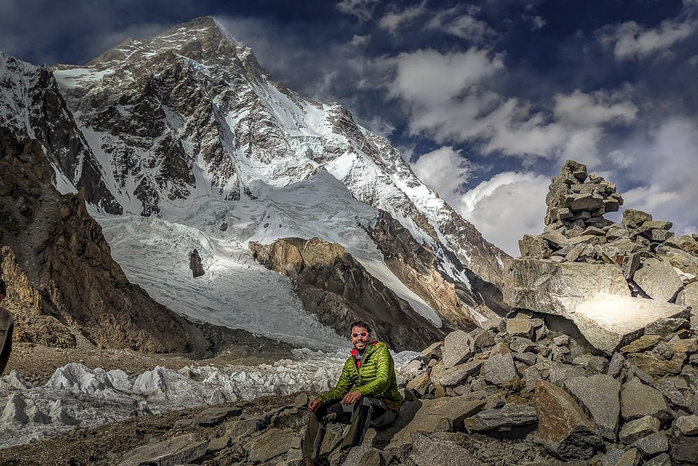 Everest vs K2: Peter at K2 base camp