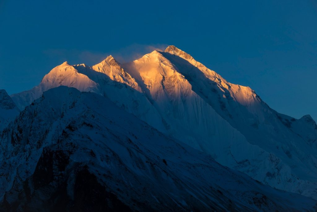 Sunrise on Rakaposhi Peak