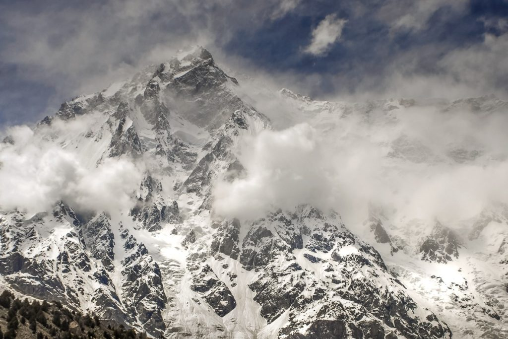 Nanga Parbat's famous Rupal Face can be seen on one of the best treks in pakistan