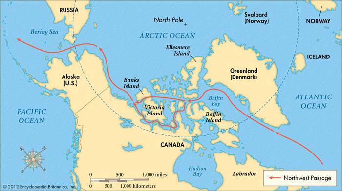 The Northwest Passage first took three years to complete: interesting facts about the arctic