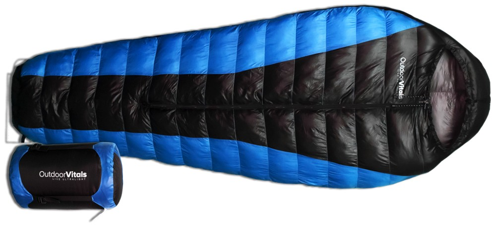 My new front-opening sleeping bag