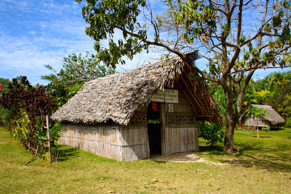 a restaurant on Tanna Island in Vanuatu