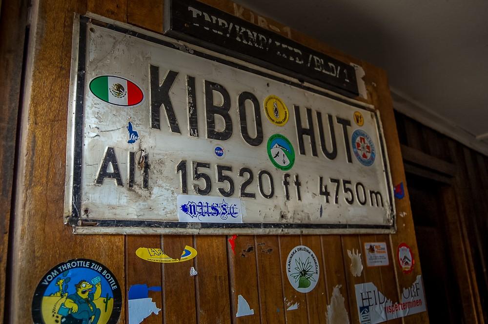 Climbing Kilimanjaro kibo hut