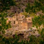 The abandoned village of Wadi Bani Habib