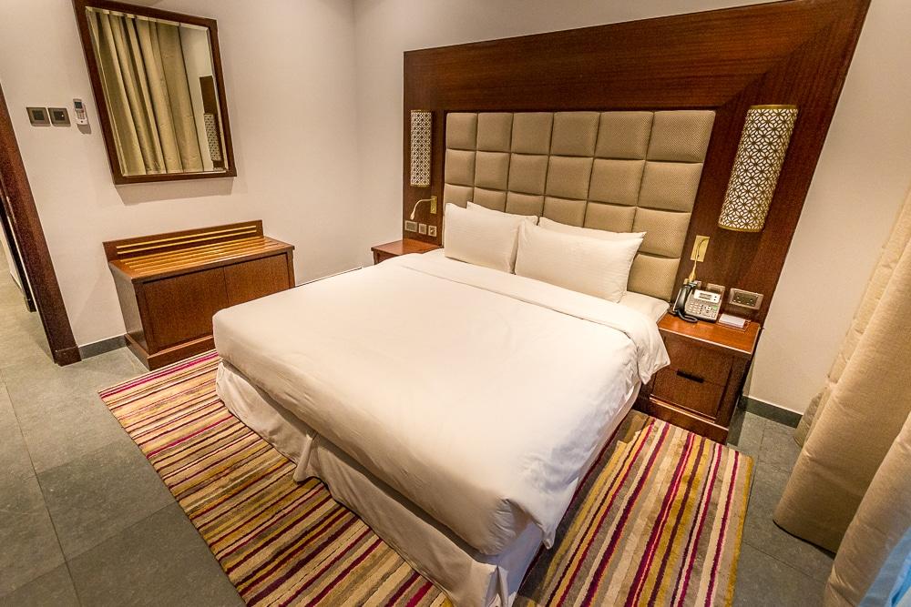 hotel sahab bedroom