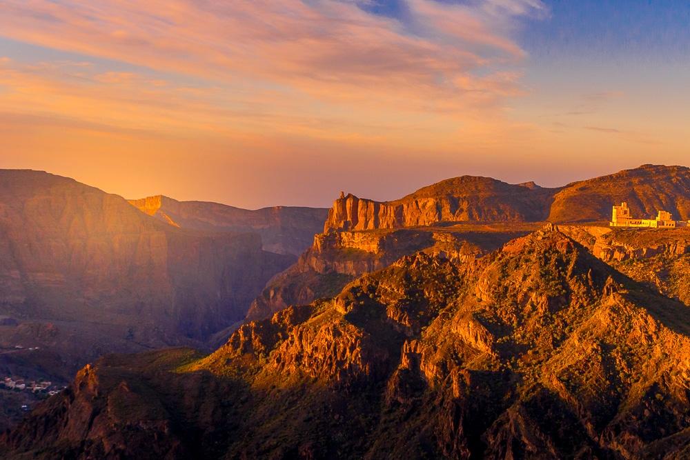 Le coucher de soleil à Diana & # 39; s Point est l'une des meilleures choses à faire à Oman