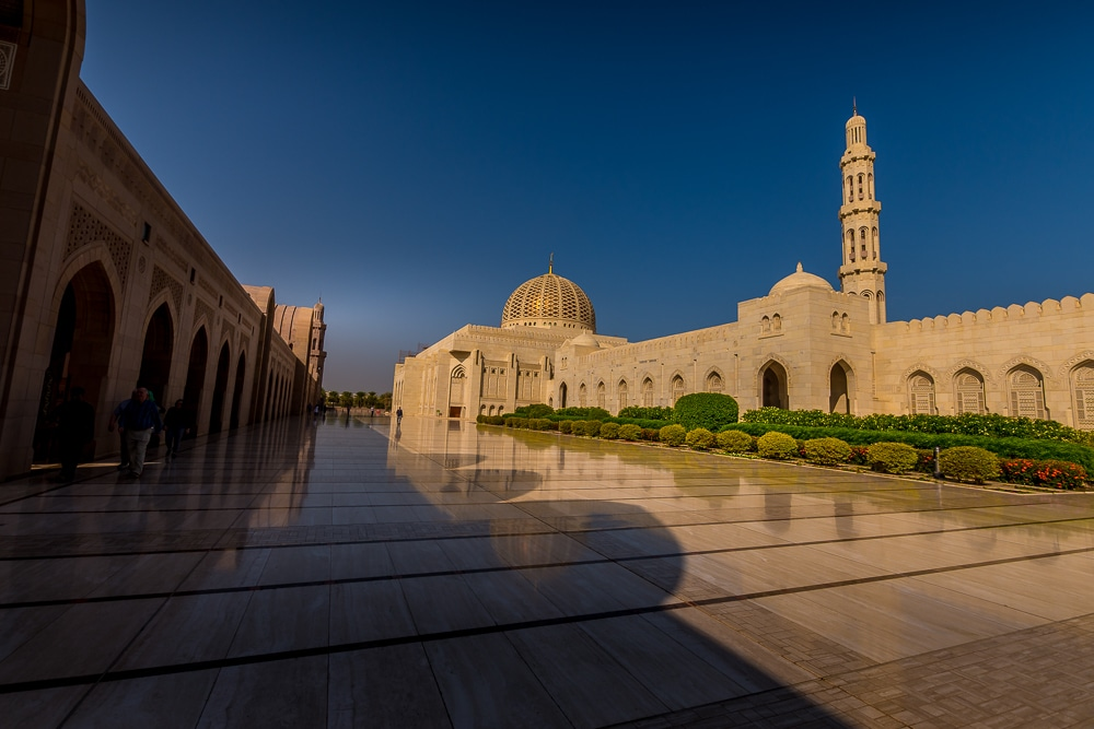 Muscat's Sultan Qaboos Grand Mosque: a wonderful alternative to Dubai