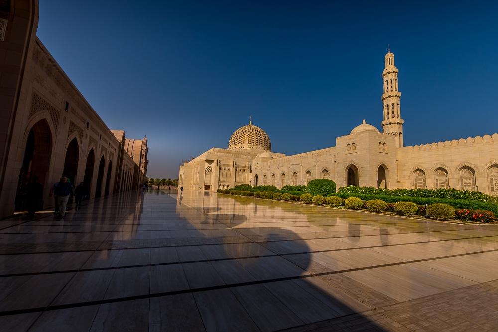 Grande Mosquée du Sultan Qaboos de Muscat: une merveilleuse alternative à Dubaï