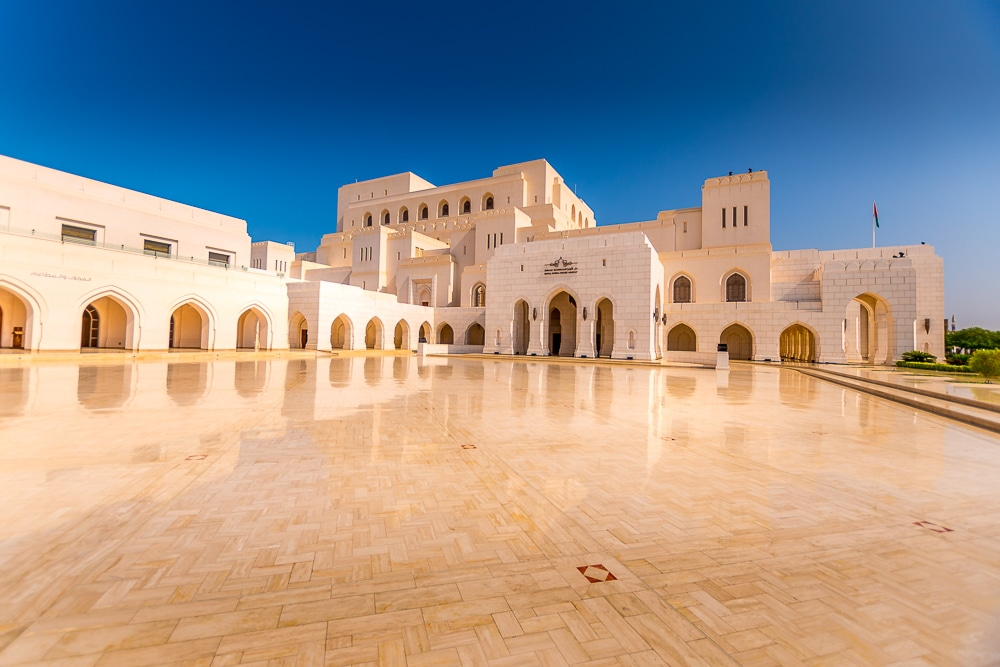 royal opera house is one of the best things to do in muscat