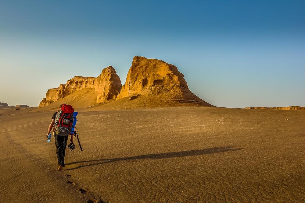 unknown treks -lut desert