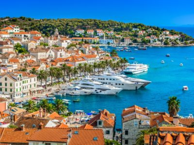 Hvar is known as a celebrity hideout