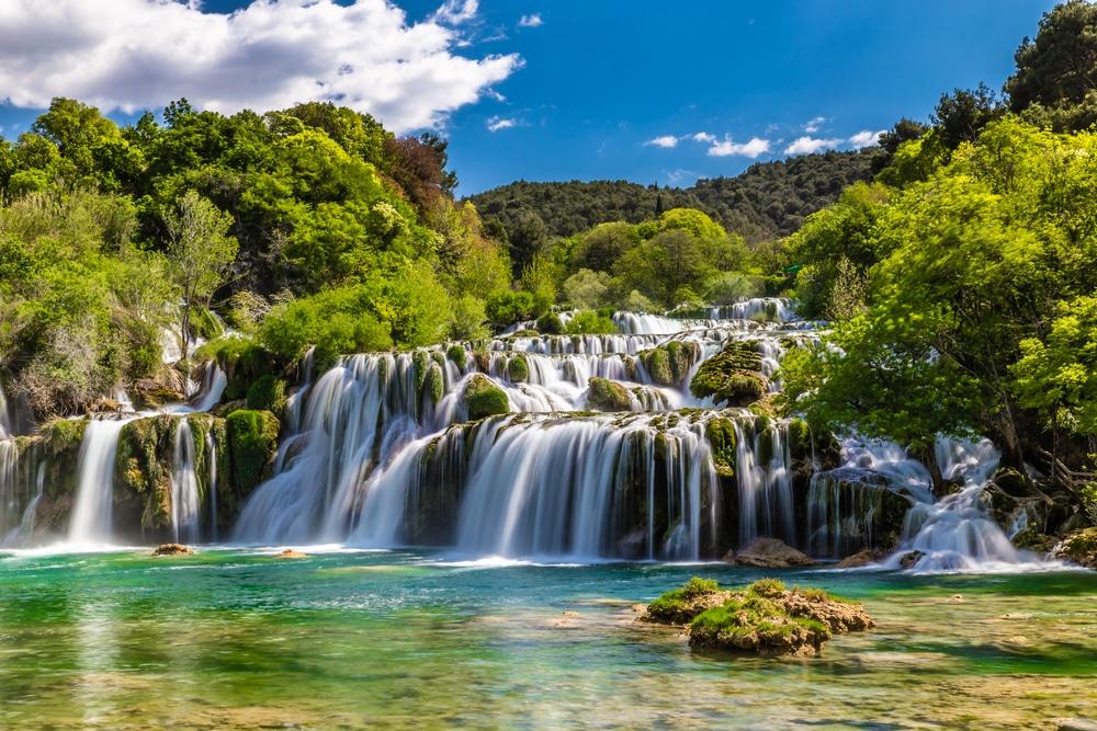 Krka peut être vu lors d'une excursion d'une journée de neuf heures au départ de Split