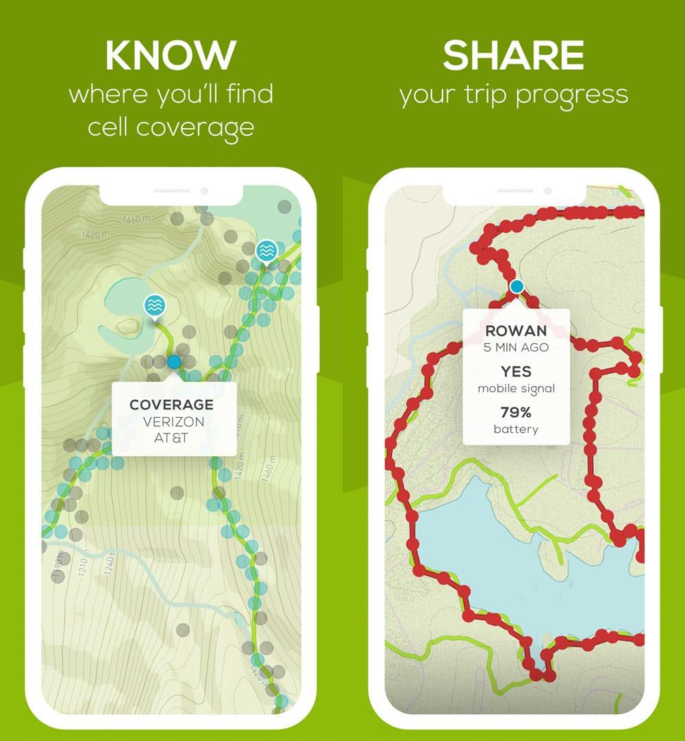 Best Hiking Apps Of 2020 14 Outdoor Options Atlas Boots