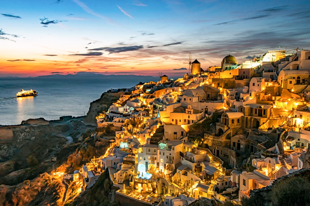 Escape the crowds with this night-time hike in Santorini