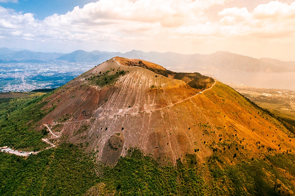 Mt Vesuvius offers one of Europe's best hikes