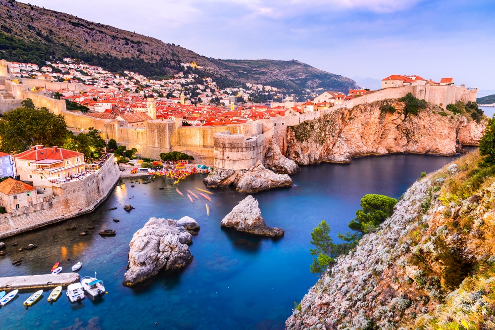 Visiting Dubrovnik at dusk is a good way to beat the crowds