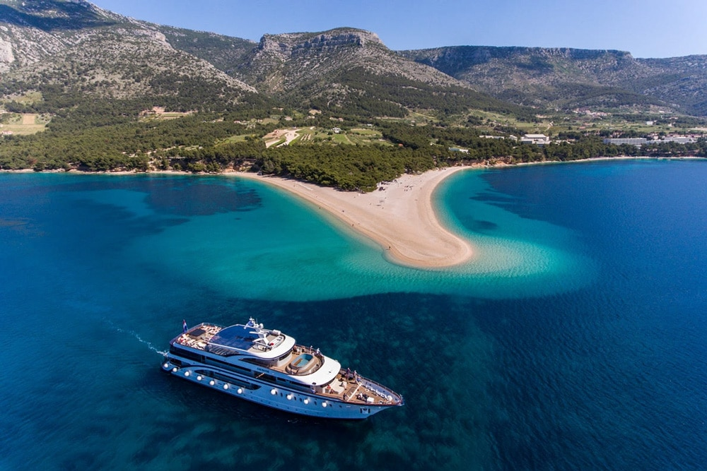beat the crowds in Croatia by taking a cruise