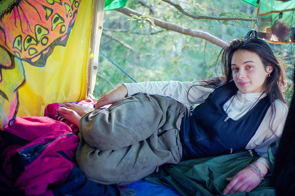 Julia 'Butterfly' Hill lived in a tree for two years