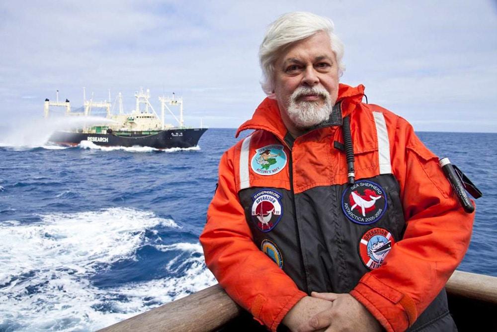 Paul Watson is an unapologetsi eco-warrior