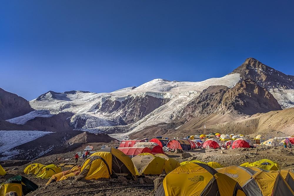 tents at base camp