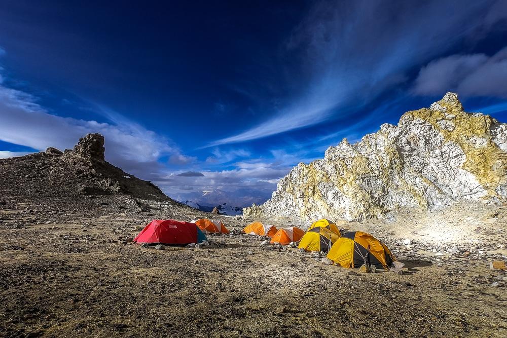 Camp 3 on Aconcagua