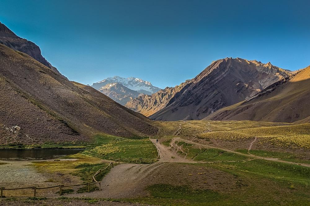 Nuestra vista final del Aconcagua