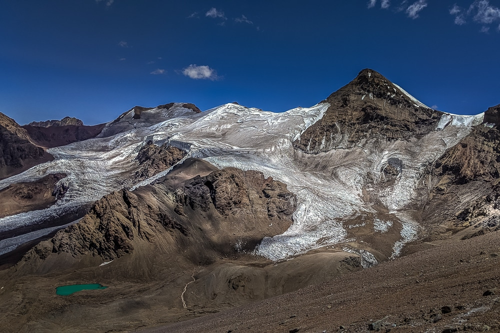a typical view – how to climb Aconcagua