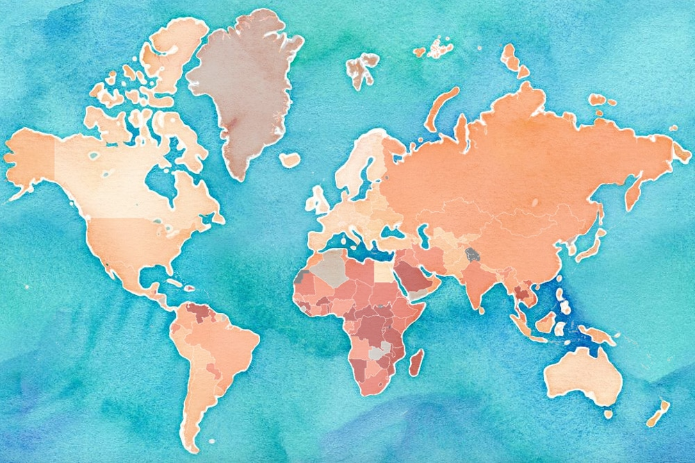 world's-worst-countries-to-drive-in-map