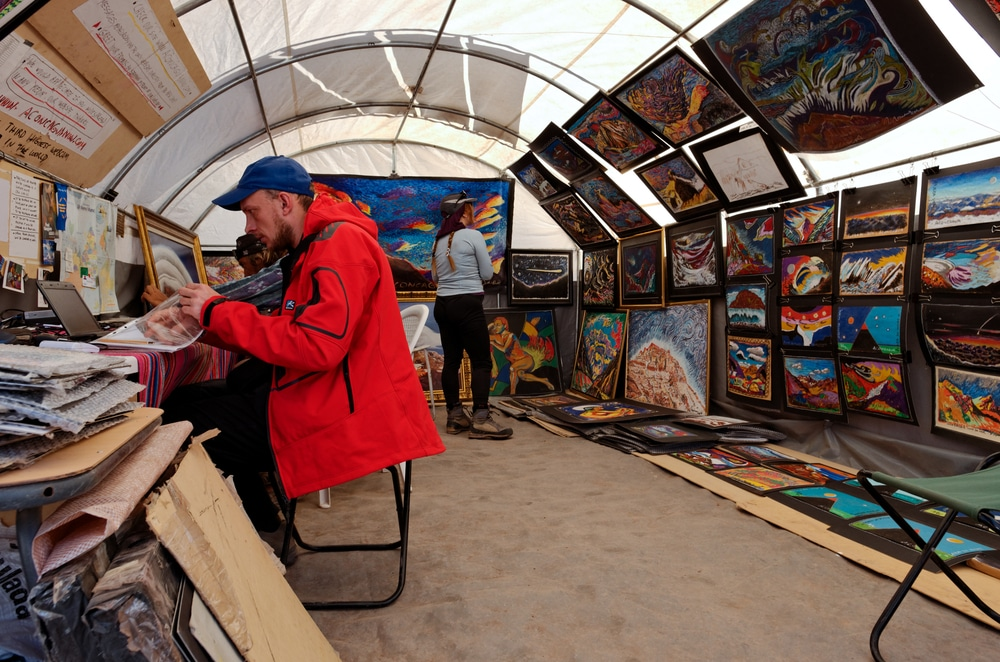 the art gallery is one of the interesting facts about Aconcagua