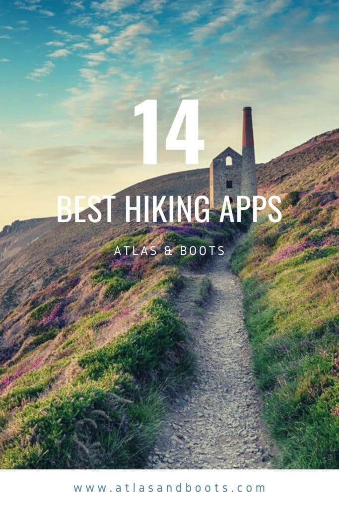 Best hiking apps pinterest pin