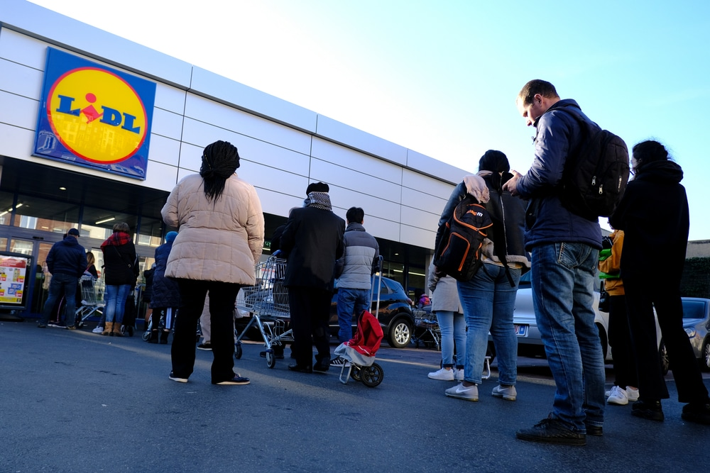 Shoppers have been aggressively told to 'stay the fuck home'