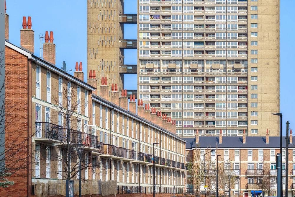 El barrio de Kia en Tower Hamlets