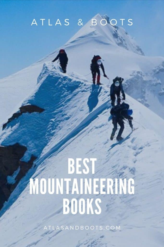 best mountaineering books pinterest image