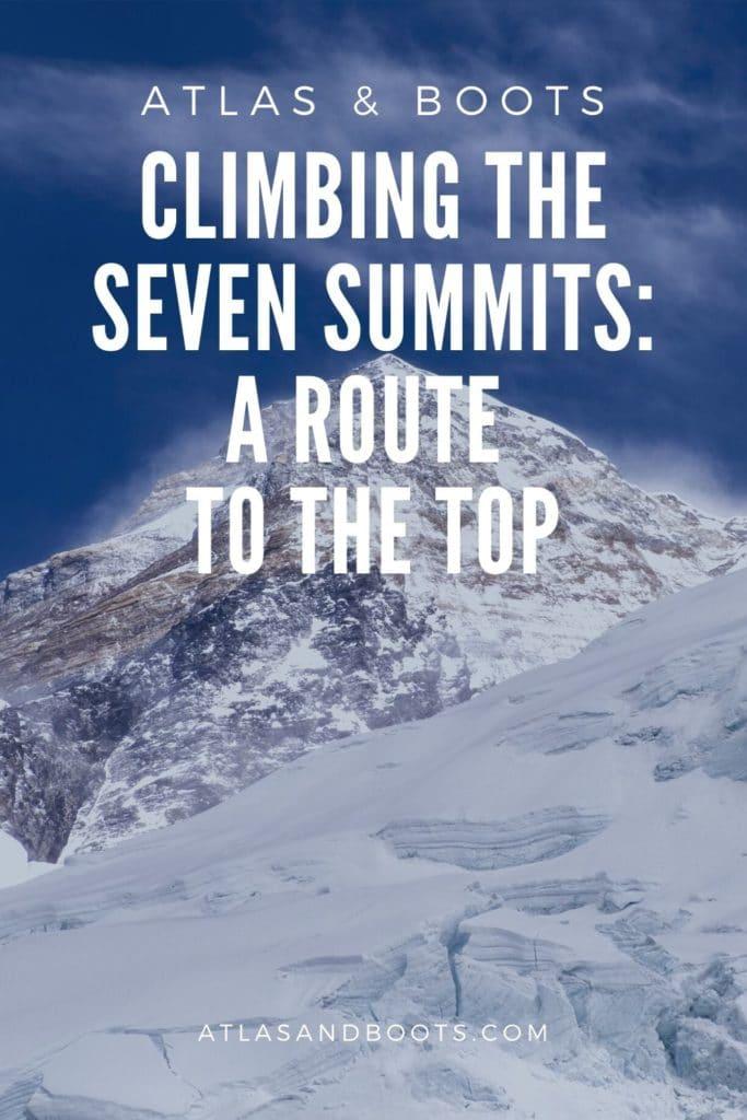 climbing the seven summits pinterest