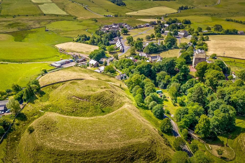A birdseye view of the village of Elsdurn