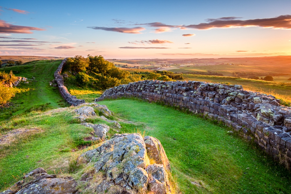 Hadrian's Wall Path and the best hikes in Northumberland National Park lead image