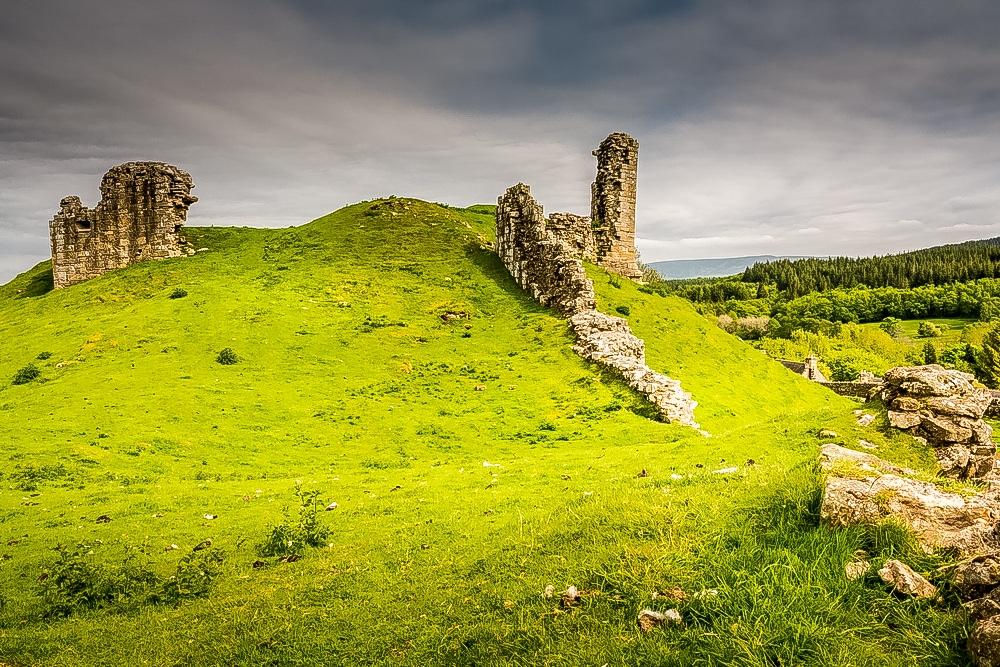 Harbottle Castle