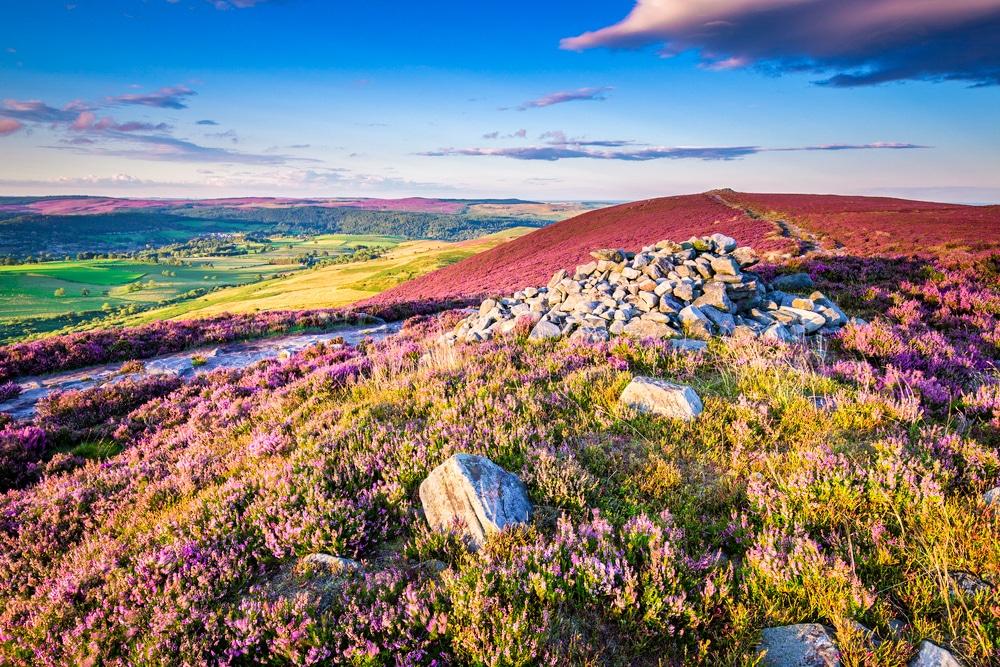 Simonside Hills in Northumberland National Park