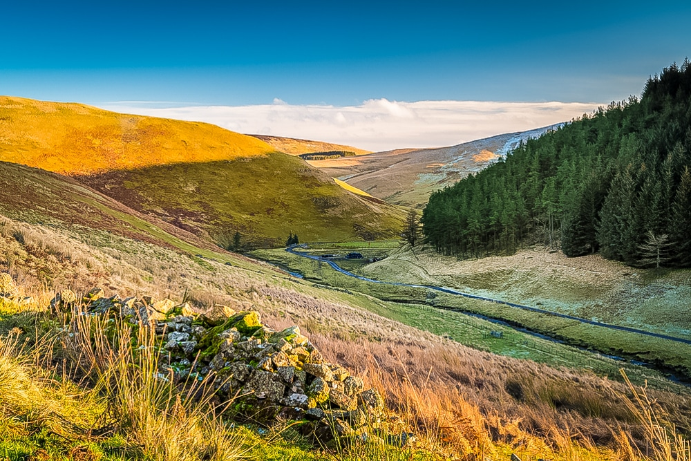 Upper Coquetdale is one of the best hikes in Northumberland National Park