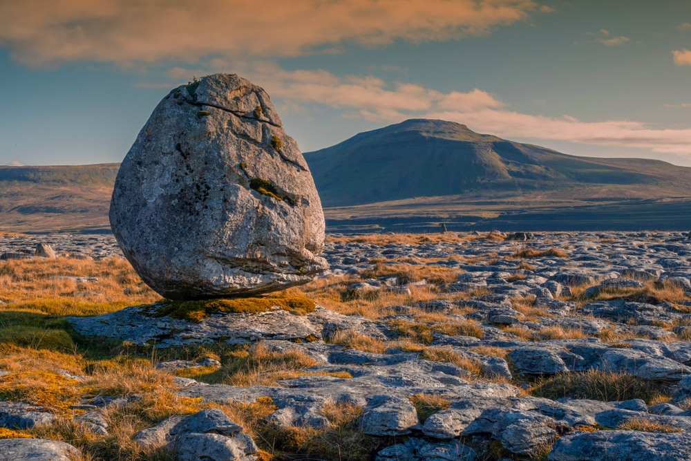 Ingleborough in the Yorkshire Dales National Park