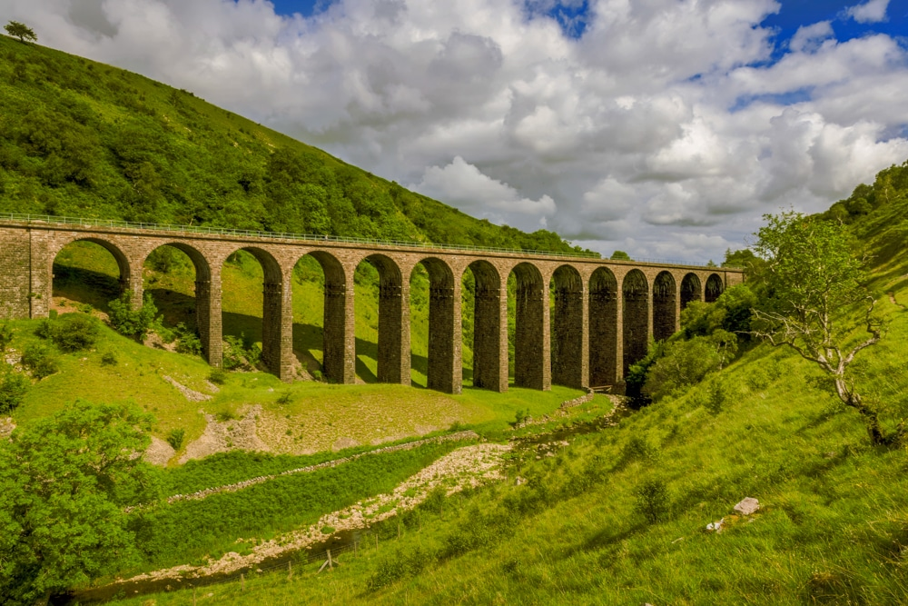 The Smardale Gill viaduct