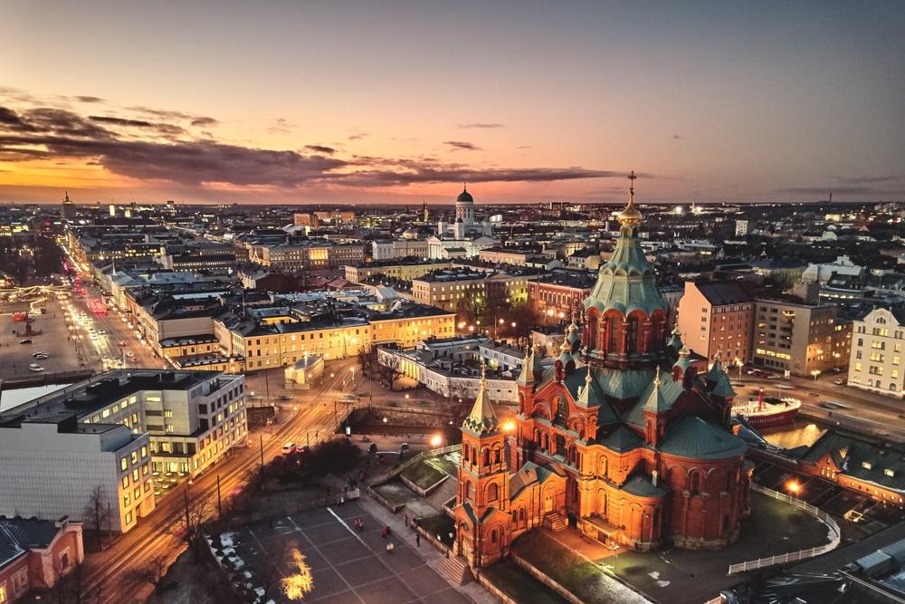 helsinki is happiest cities in the world 2020