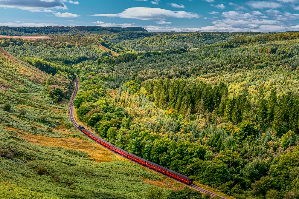 Goathland is one of the best hikes in the North York Moors National Park