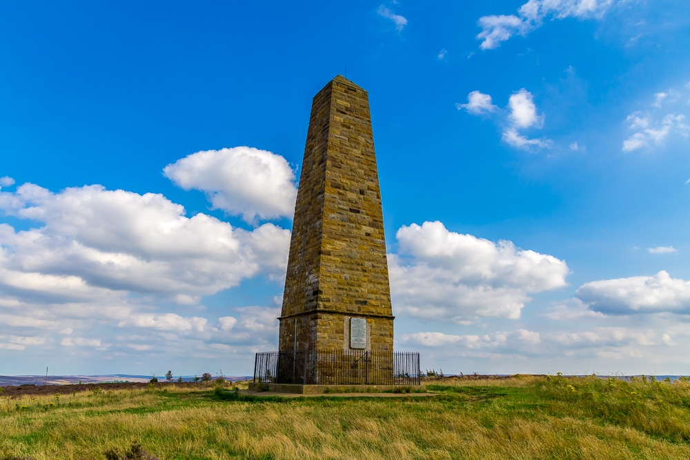 Captain Cook's Monument on Great Ayton Moor