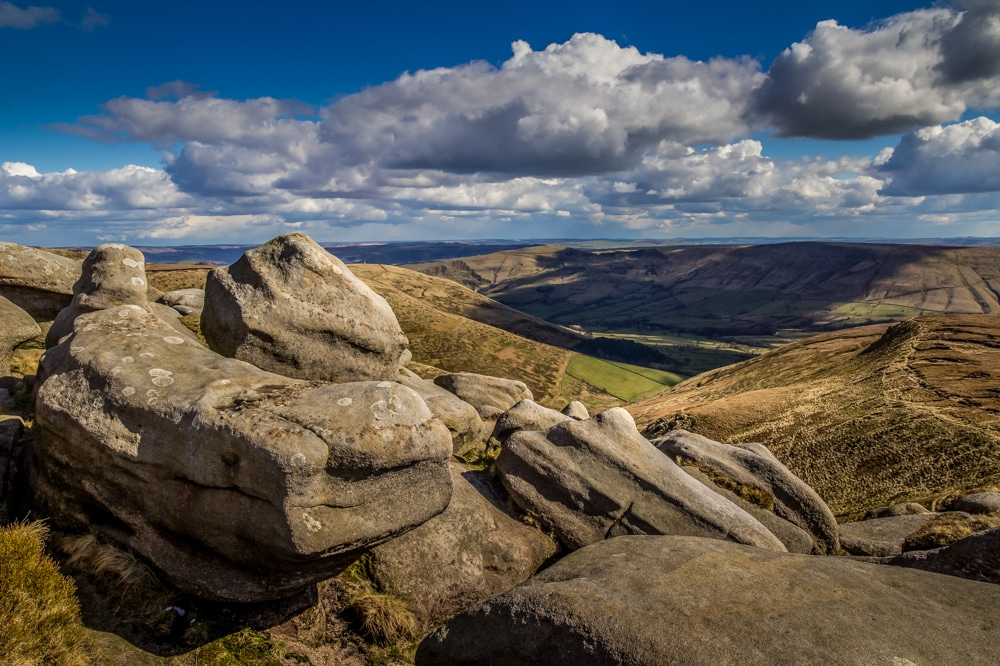 Kinder Scout is one of the best hikes in the Peak District