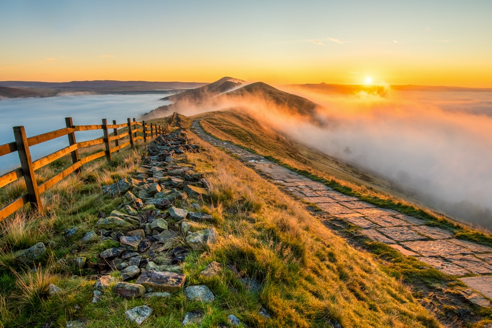 Mam Tor in the Peak District