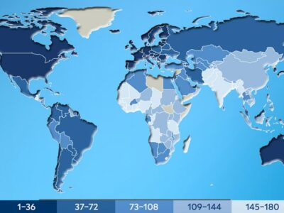 greenest-country-in-the-world-2020-map