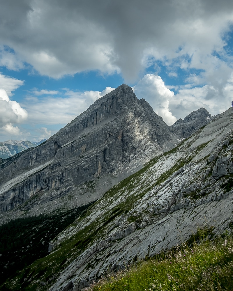hiking the Watzmann Traverse