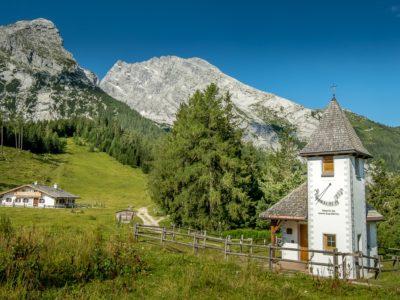 The Watzmann massif towers above 'Berchtesgadener Land'