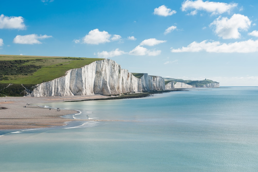 natural wonders in the uk - The Seven Sisters